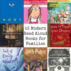 25 Modern Read Aloud Books for Families